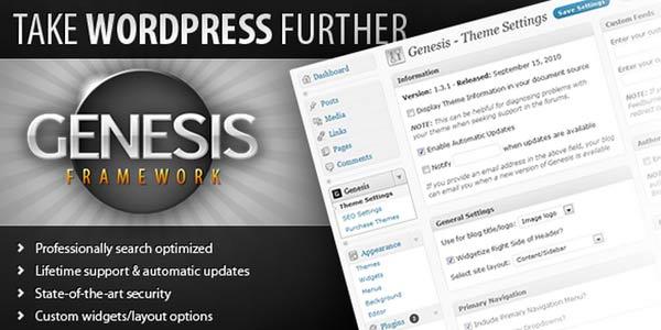 Bedste WordPress tema - Genesis